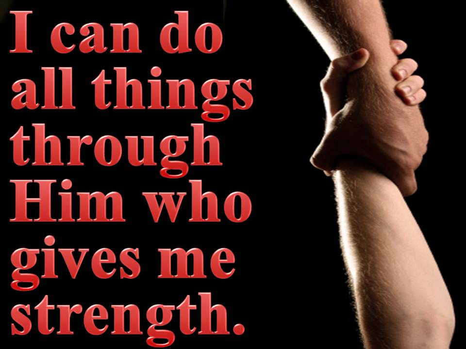 Can do all things i can do all things